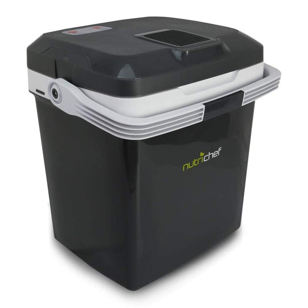 NutriChef Portable Cooler PKTCEC28SL-Fridges, Coolers & Ice Makers-NutriChef Kitchen