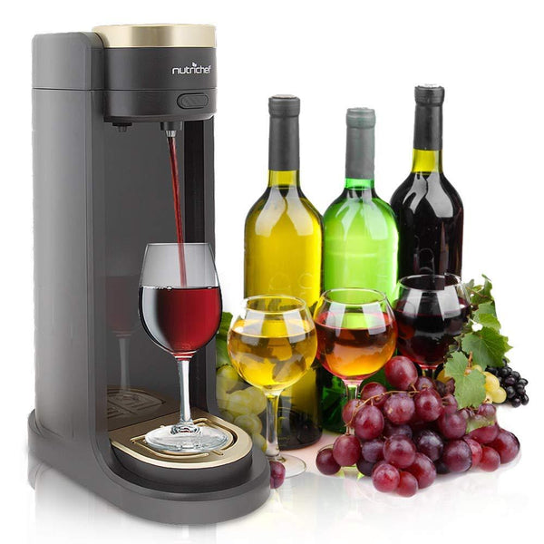 NutriChef Portable Wine Dispenser PKWNARDS38-Fridges, Coolers & Ice Makers-NutriChef Kitchen