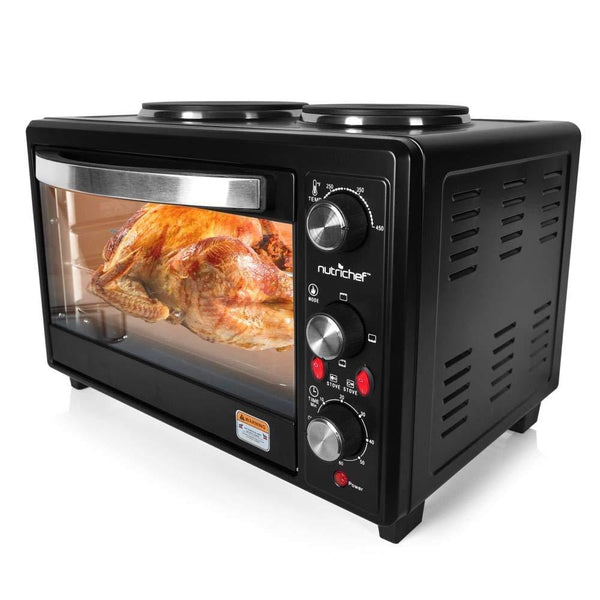 NutriChef Rotisserie Cooker PKRTO28-Ovens & Cookers-NutriChef Kitchen