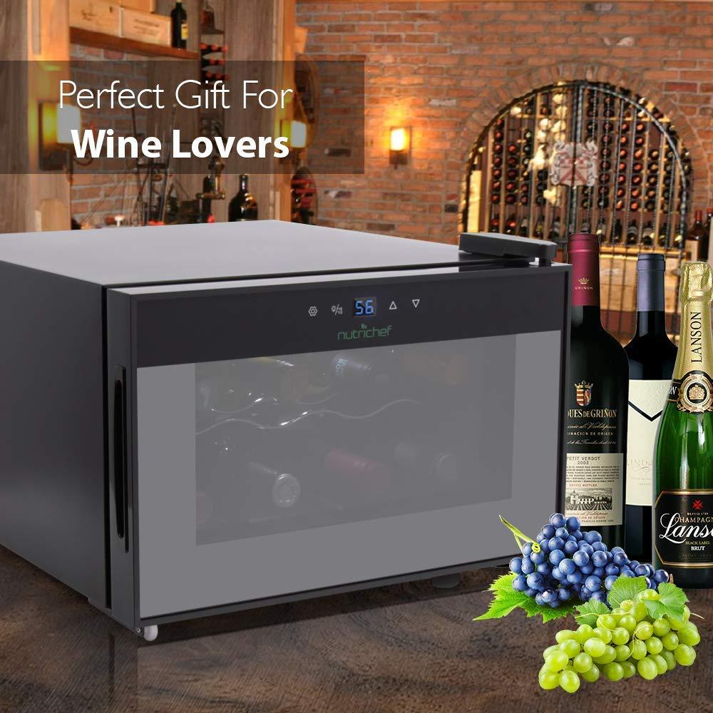 Wine Cooler 8-Bottle Capacity PKTEWC806 – NutriChef Kitchen