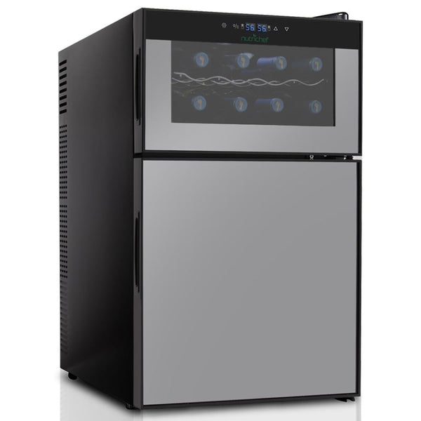NutriChef Wine Cooler PKTEWBC240-Fridges, Coolers & Ice Makers-NutriChef Kitchen