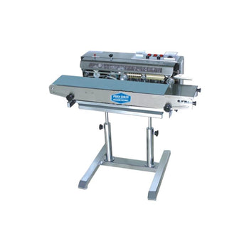 PS-BS1000HSP Horizontal Band Sealer on a stand