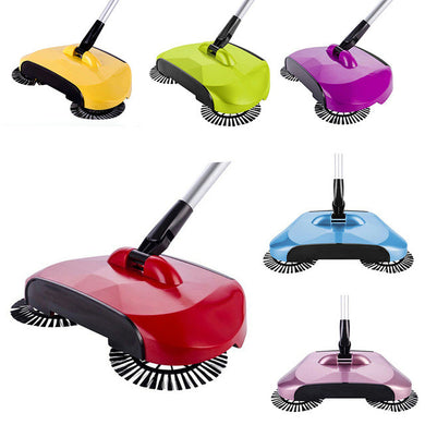 The Smart Spin Brush Broom