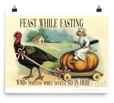 Feast While Fasting poster