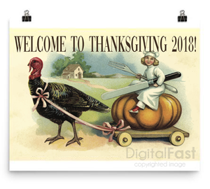 Thanksgiving 2018 poster