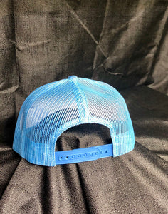 Light blue and white SnapBack