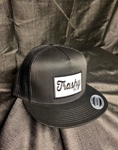 Black Trashy SnapBack