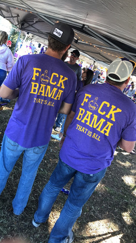F*ck Bama Pocket Tee