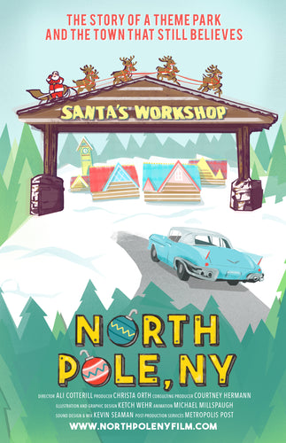North Pole, NY Poster 11x17