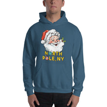 Load image into Gallery viewer, North Pole, NY Hooded Sweatshirt (multiple colors)