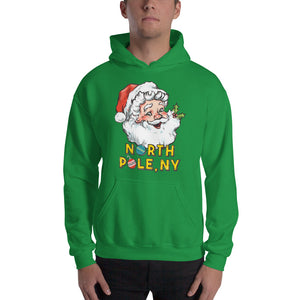 North Pole, NY Hooded Sweatshirt (multiple colors)