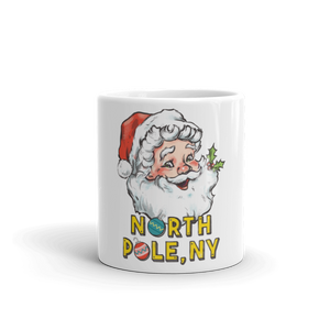 North Pole, NY Mug