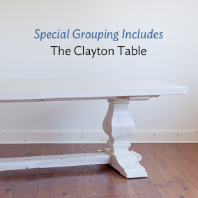 The clayton table is included in this special grouping