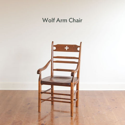 Wolf arm chair