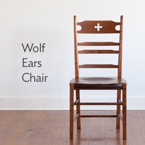 Wolf ears side chair