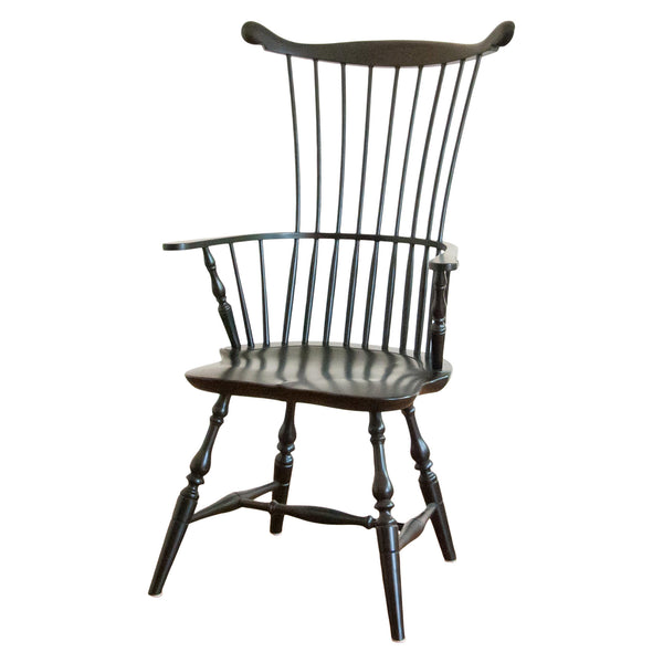 Adams Arm Chair in Black
