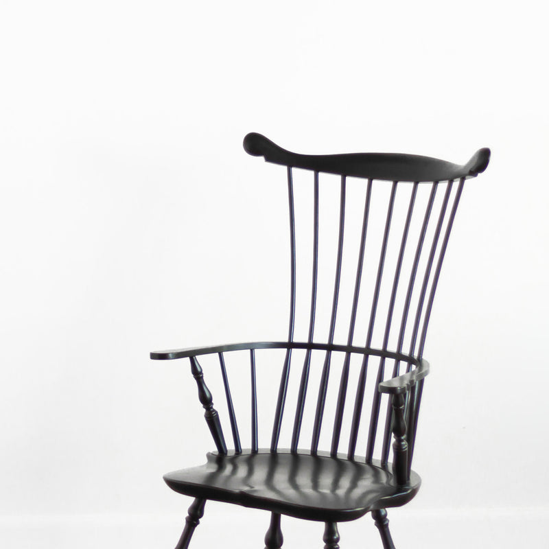 Adams Armchair in Black