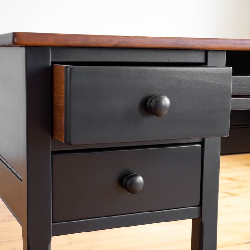 Alexander Desk in Black/Williams