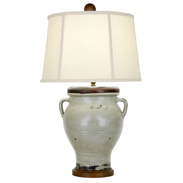 Auburn Table Lamp - Green