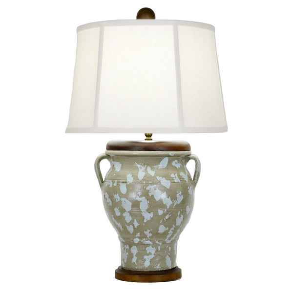 Auburn Table Lamp - Green/Blue
