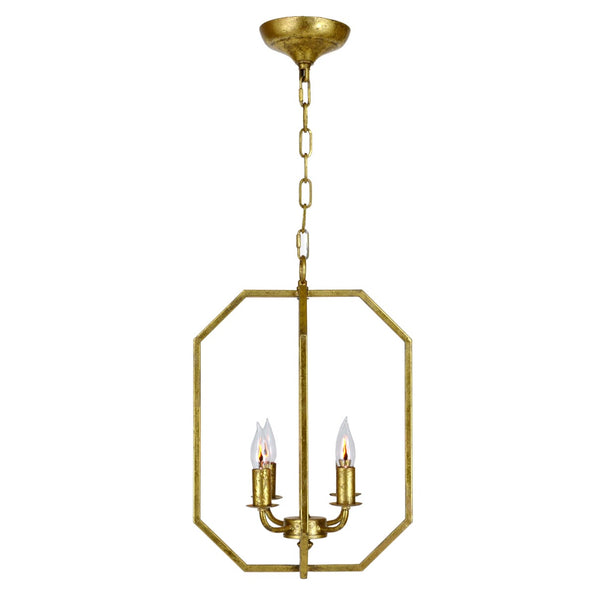 Posey Pendant - Gold