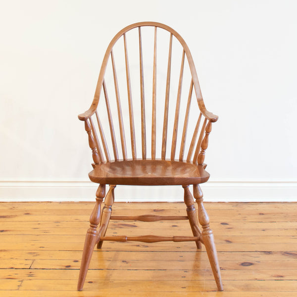 Solid Cherry Windsor Arm Chair