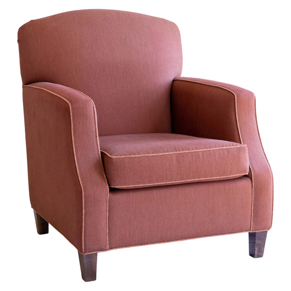 Benjamin Armchair in Brick