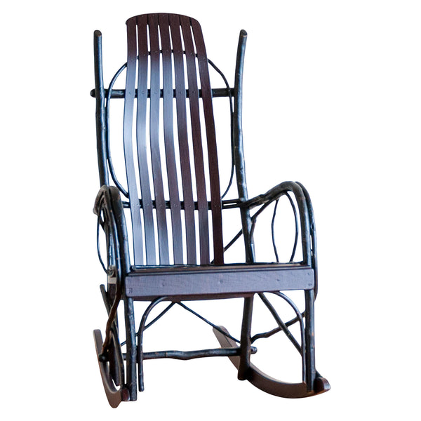 Brentwood Rocker in Blackberry