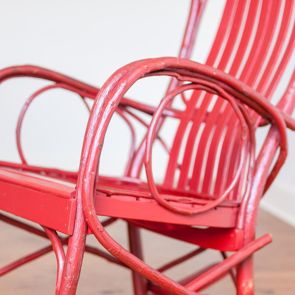 Brentwood Rocker in Old Red