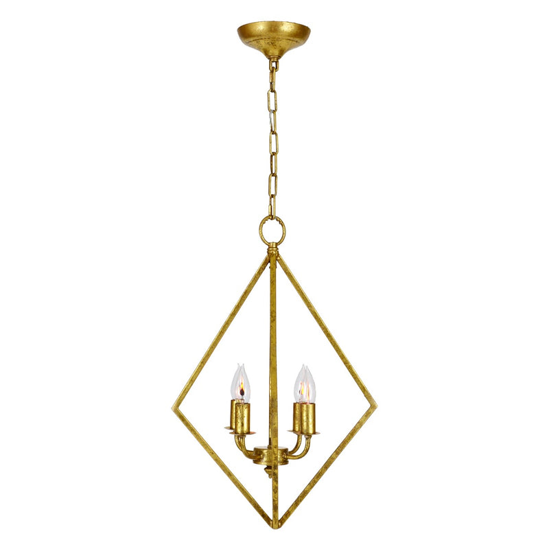 Fairmont Pendant - Gold