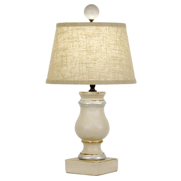 Brewer Table Lamp - Cream