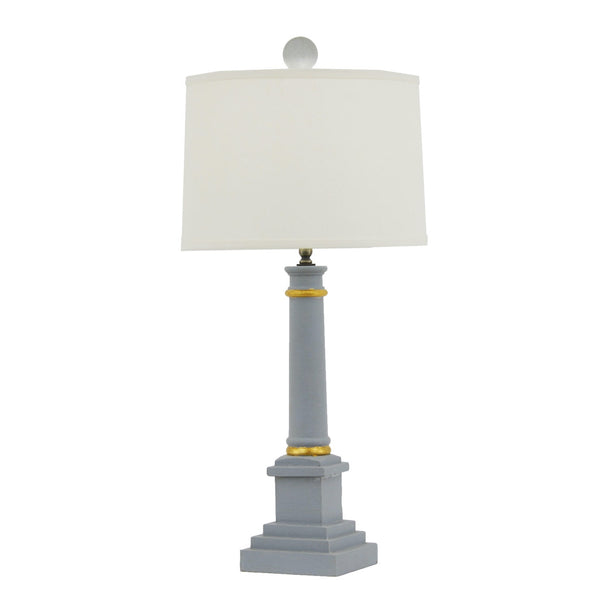Broad Table Lamp - Blue