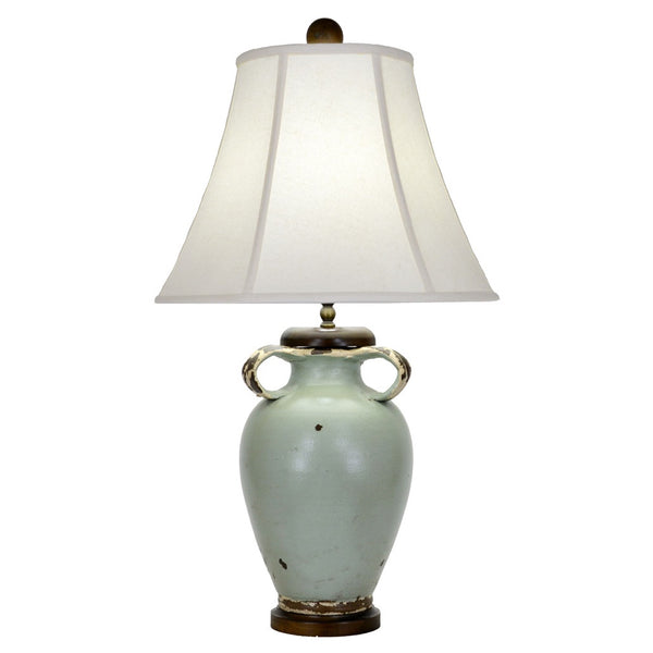 Brookstone Table Lamp - Turquoise