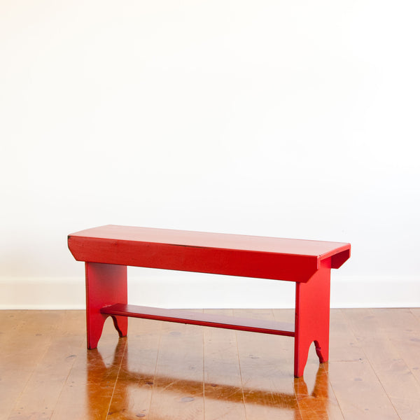 Bucket Bench in Red