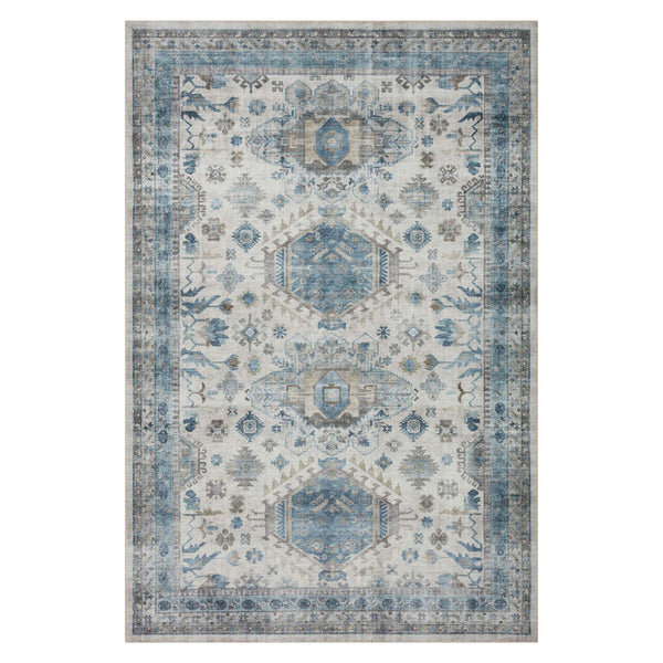 Camila rug in Mineral Alloy