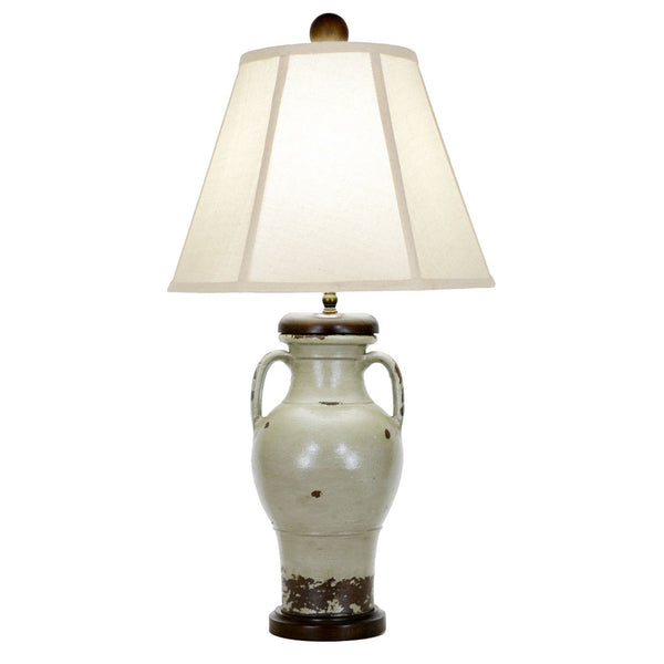 Cascade Table Lamp - Green