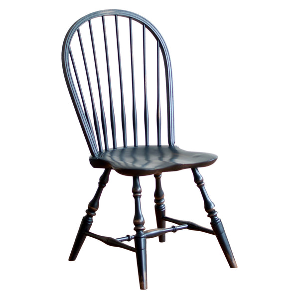 Cecil windsor chair in black