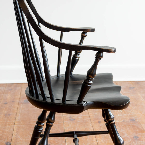 Cecil Arm Chair in Black