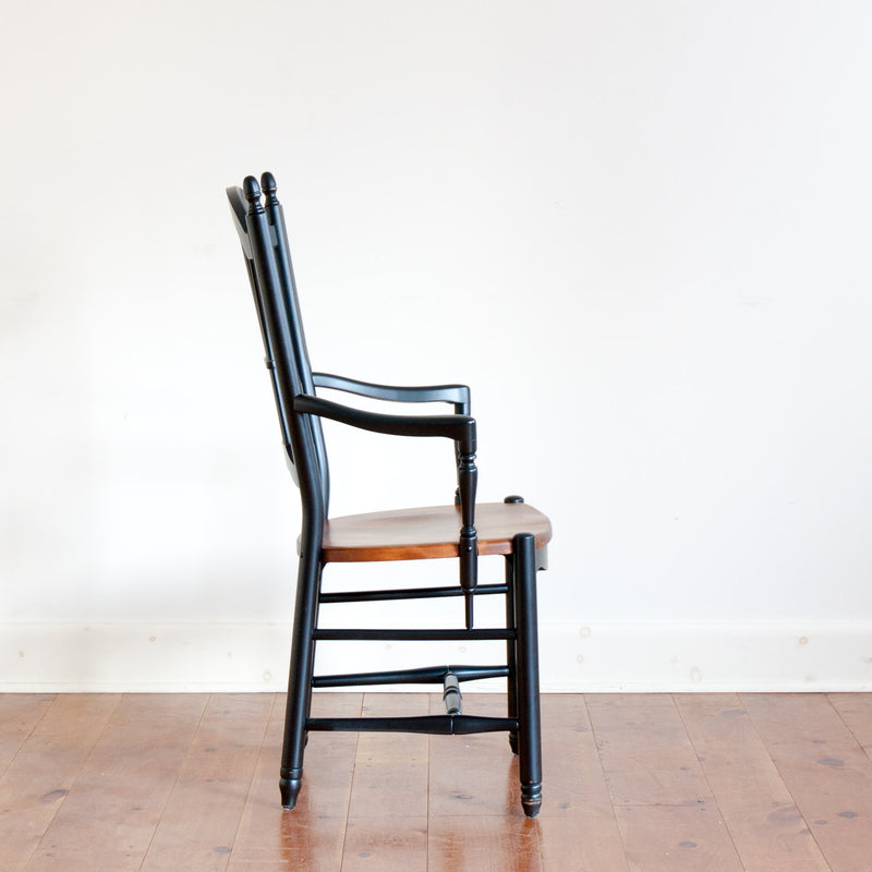 Clarke Armchair in Black/Williams