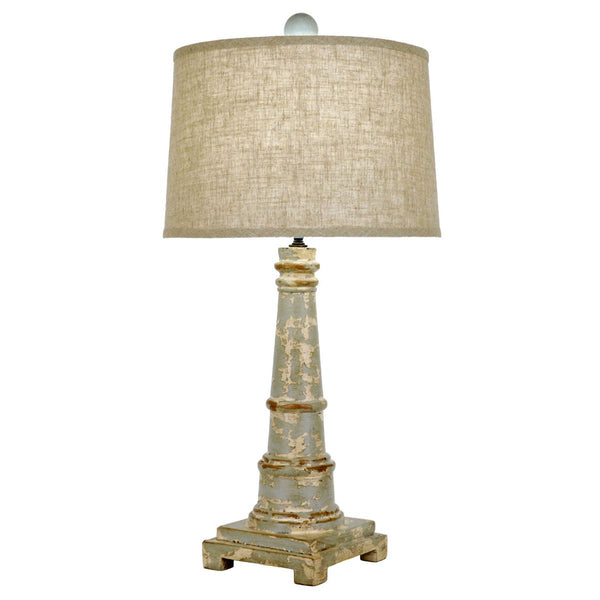 Costal Table Lamp - Taupe