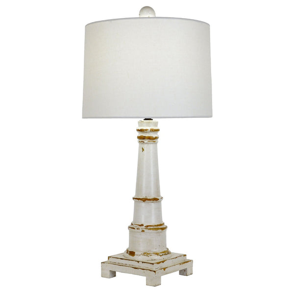 Costal Table Lamp - White