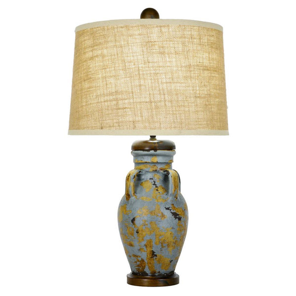 Courtland Table Lamp - Blue/Gold