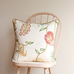 Crewel Toss Cushion in Chennai Spring