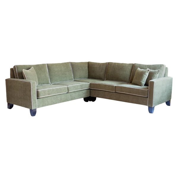 Damon Sectional in Olive