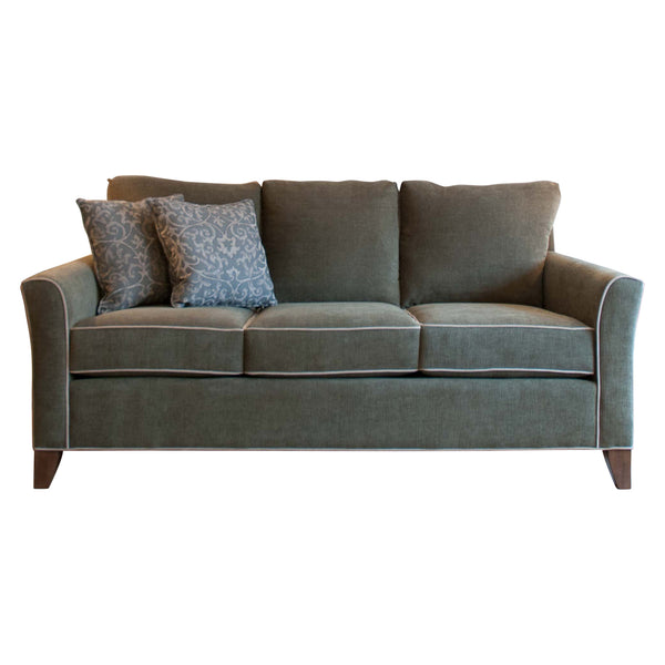 Danforth sofa in tarragon