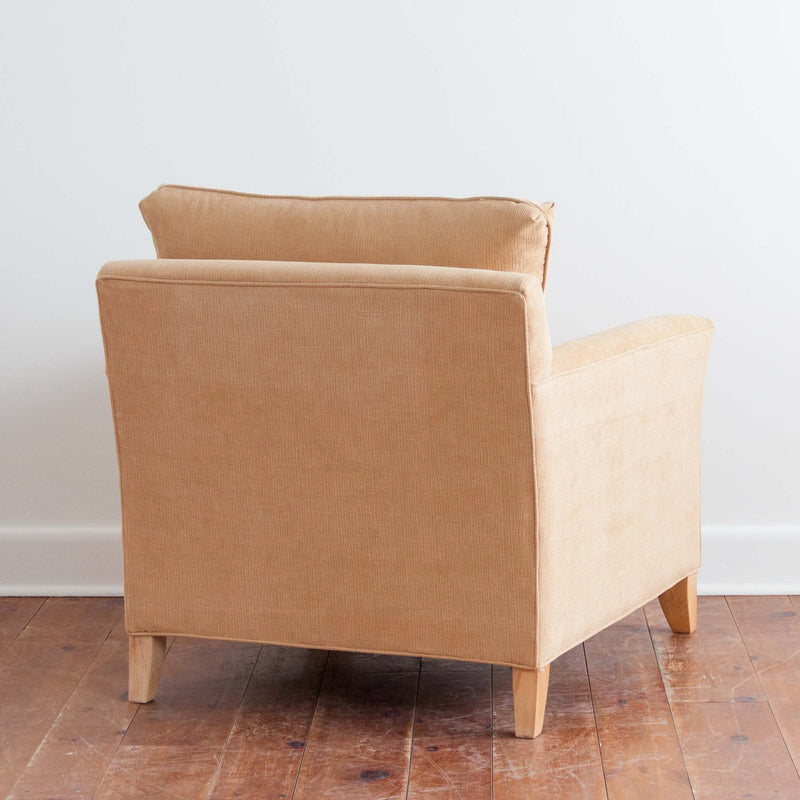 Danforth Chair in Sand, back view