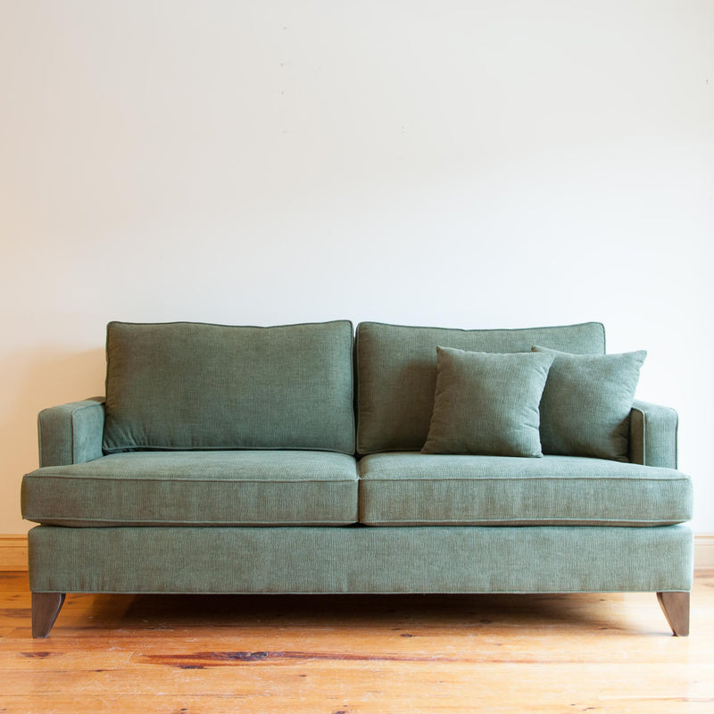 Davenport sofa in olive