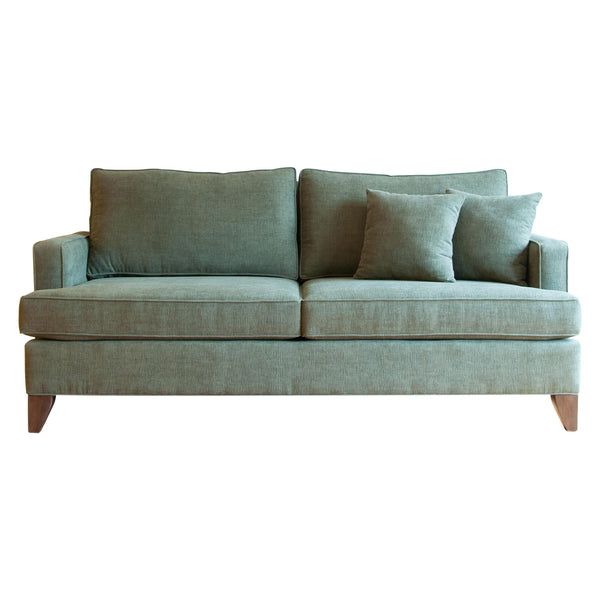 Devenport two seat sofa in olive