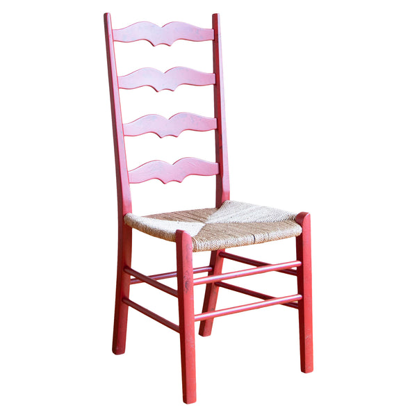 Douglas Chair in Red/Diamond Point