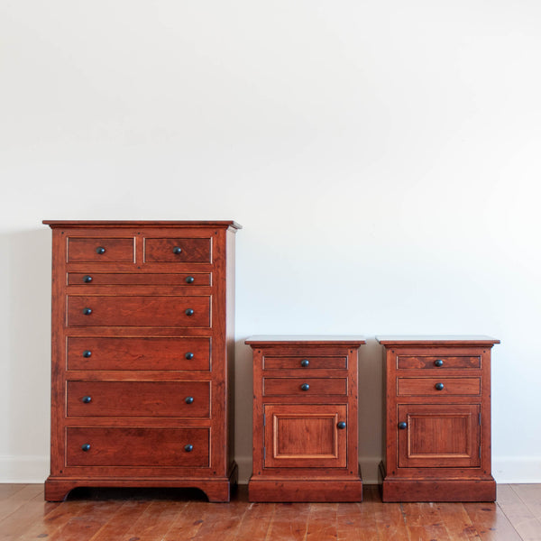 Downy Nightstand in Antique Cherry